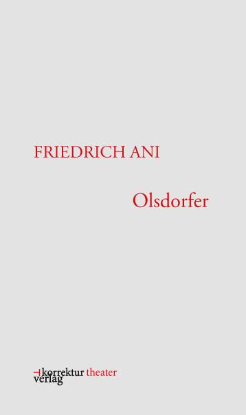 Friedrich Ani - Olsdorfer